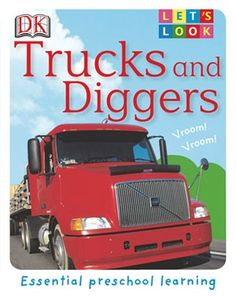 Discover monster trucks, tankers, excavators, and more, as your child learns all about trucks and diggers.