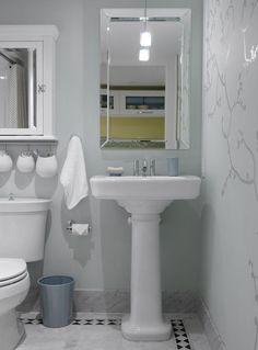 Sarah Richardson Design - Sarah's House 2 (Guest Bathroom)