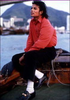 Майкл в Гонконге 1987г