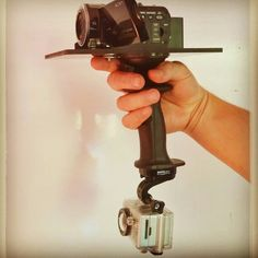 The #Doubleshot ! #Gerp unites a #GoPro and a #Sony #camcorder !