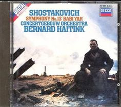 One of Shostakovich's grimmest pieces. Great performance and recording.