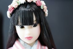 Fashion Dolls, Kimono, Crown, Corona, Kimonos, Crowns, Crown Royal Bags