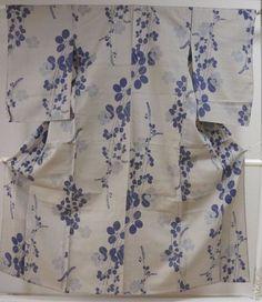 Kimono Dress Japan Hitoe Summer Geisha costume Vintage 160411_A004S3