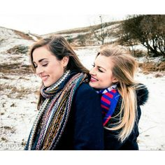 Rose and Rosie - the most adorable, gorgeous, and hilarious couple on YouTube. They are currently engaged and you can find them on their YouTube channel RoseEllenDix. ❤️