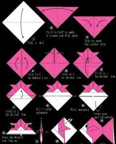 Origami per bambini - Creare un pesce origami