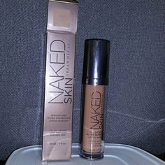 REDUCED Urban Decay Naked Foundation 5.0 Weightless, buildable, medium coverage foundation. Comes with a pump. I used about 1/4 of a pump to test product one time is all.  Purchased at Ulta. Full bottle. Makeup Foundation