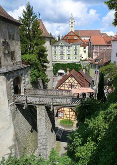 Meersburg, Germany. It's looks like a real life Disney!