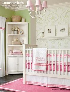 Stylish baby room from Pottery barn