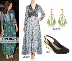 Kate Middleton, Duchess of Cambridge Outfit Inspiration. RepliKate the look for less! Click to shop the look