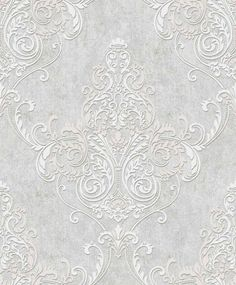 Valdina Lustre / Grey wallpaper by Arthouse per il bagno