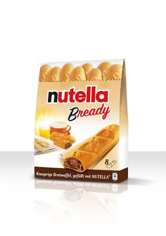 Nutella Bready on Packaging of the World - Creative Package Design Gallery