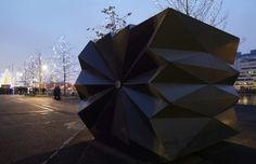 make architects / origami kiosk, canary wharf