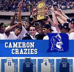 Duke Basketball all the way!!