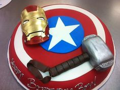 avenger birthday cakes | fancy cakes by Leslie - Avengers Superhero Birthday Cake