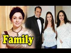 Hema Malini Family Photos With Parents,Brother,Daughters and Husband Dha...