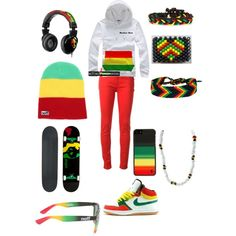 Designer Clothes, Shoes & Bags for Women Rasta Party, Rastafarian Culture, Reggae Style, Dancehall Reggae, Adidas Outfit, Types Of Fashion Styles, Fashion Outfits, Womens Fashion, Style Me