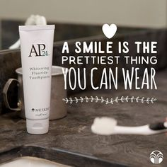 Want whiter teeth? AP-24 Whitening Fluoride Toothpaste is the answer! Pm me for more info
