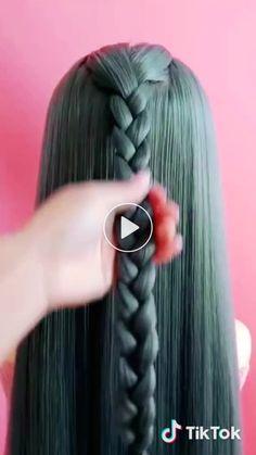 creative arts has just created an awesome short video with original sound – arti… - Frisuren Medium Hair Styles, Curly Hair Styles, Hair Braiding Salon, Hair Waver, Tape In Hair Extensions, Pinterest Hair, Grunge Hair, Bridal Hair Accessories, Layered Hair