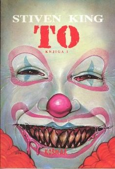 Stephen King It....they alllll  floaaattt. Swear this movie gave me my fear of clowns, mimes and anything else in a mask