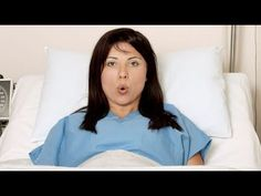 Ejercicio para practicar el pujo en el parto - YouTube