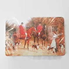 Vintage Fox Hunting Playing Cards Sealed New Old by ThriftyTheresa