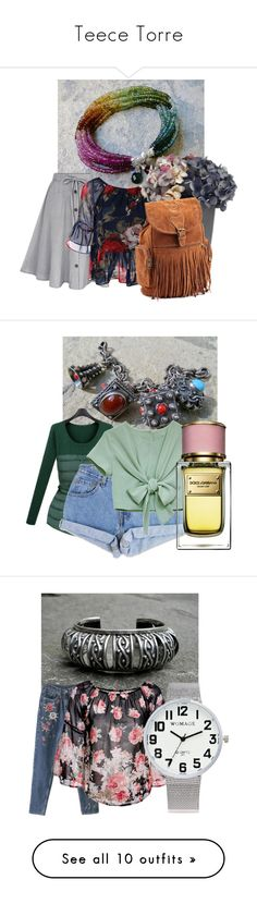 """""""Teece Torre"""" by mileypiters ❤ liked on Polyvore featuring Marks & Spencer, Levi's, Dolce&Gabbana, vintage, Nearly Natural, Moschino, H&M, LSA International, Ted Baker and Andrea Garland"""