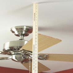 Stop the wobble of an unbalanced ceiling fan. We'll show you how to make your fan run smoothly in 15 minutes. Click on the photo for details.