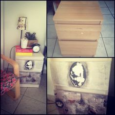 make over from my old side tables