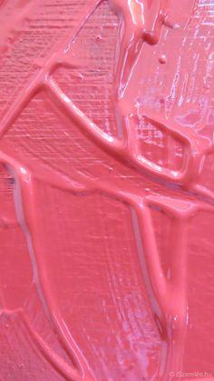 Rózsaszín festék háttérkép - Pink painting background - iPhone 6 ©iSzerelés www.iszereles.hu