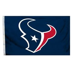 Team Pro-Mark NFL Traditional Flag NFL Team: Houston Texans, Color: Navy Blue