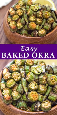 This is a simple, flavorful, and easy Baked Okra recipe. Seasoned with paprika, salt, and a pinch of cayenne, this okra makes a great snack or side dish.  FOLLOW Cooktoria for more deliciousness! #okra #vegetables #snack #appetizer #vegetarian #vegan #whole30 #keto #recipeoftheday