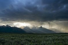 Storm Over the Tetons - $305.00