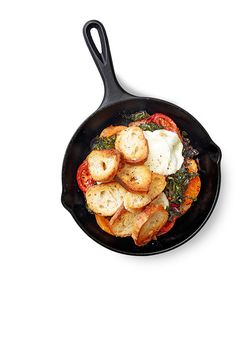 This fabulous, simple-enough-for-a-Wednesday dish uses three staples: tomatoes, mozzarella, and a baguette.