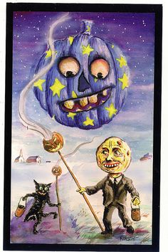 I am working on this gallery to include all of the information about each of the Halloween postcards releases from the present. As I dig through my files I will upgrade the smaller pictures with better scans. Halloween Doll, Halloween Pictures, Halloween Ghosts, Vintage Halloween, Halloween Pumpkins, Halloween Crafts, Halloween Decorations, Halloween Stuff, Halloween Costumes