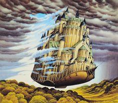 Jacek Yerka - Cloudbreaker