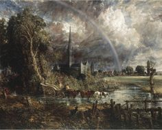 Great British Art: Salisbury Cathedral from the Meadows by John Constable