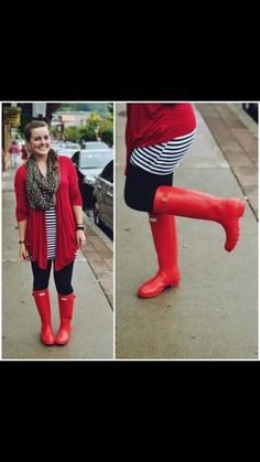 Rainy red day  It's a day with style an love great for dates an jobs