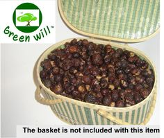 2 pounds deseeded soap nuts / soap berries / by greenwillsoapberry. So cool! Replace both your laundry detergent and fabric softener with this cheap and environmentally friendly berry. Uses for about 300 wash loads. Can also be used to make shampoo and soap. Page contains recipes.