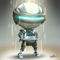 Robot Chibi  3d Artist: Lomell R. Rueca Robot Cute, I Robot, Cute Toys, Character Rigging, Game Character, Character Design, Robot Sketch, Toddler Arts And Crafts, Futuristic Robot