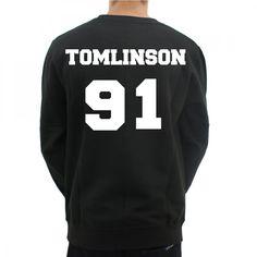 Louis Tomlinson 91 Crewneck Sweatshirt 1D