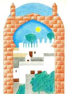 Dibujo original de Enrique Gallud Jardiel.