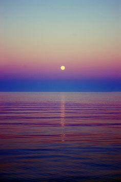 So Peaceful as the sun sets.