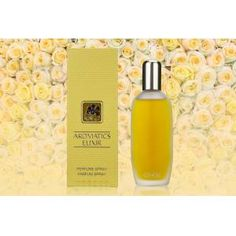 £19 for a 25ml bottle of Clinique Aromatics Elixir eau de parfum spray, £27 for a 45ml bottle from The Perfume Stop - save up to 53% Wet, Parfum Spray, Sculpting, Perfume, Bottle, Beauty, Products, Sculpture, Flask
