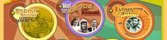 Hispanic History in the Americas, Meet Famous Latinos, Latinos in History-- Scholastic Resources.  Includes teacher's guide and is interactive whiteboard ready.
