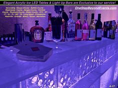 Elegant Light Up Table & Bar Rental & Glow Party Decor Planner! Lower prices & a better product! Compare our website photos with guests to any other! We win. Special Events, Weddings, Sweet 16s, Bat Mitzvah, Convention & Corporate Event Party Decor. Free decor planning! Nassau County, Suffolk County, Westchester County, Bergen County, Fairfield County, Rockland County, Essex County, NY, NYC, NJ, CT, DC, MD, TN, FL, Long Island, Manhattan, Nashville, Greenwich, Orlando, Tampa, Miami… Essex County, Suffolk County, Bergen County, Glow Table, Chandelier Centerpiece, Disco Theme, Prom Decor, Led Furniture, Up Bar