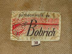 Vintage Bobrich Outdoorwear clothing label
