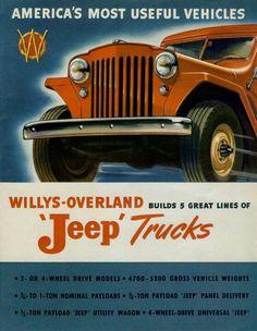 Willys-Overland Jeep Trucks