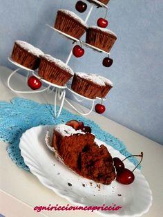 muffins cioccolato & ciliegie