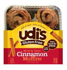 Start your day off with some gluten free Cinnamon Rolls! | Udi's® Gluten Free Bread