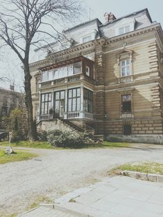 Early XX century villa, Krasińskiego Street, Bielsko-Biala, Poland Art Nouveau, The Beautiful Country, Architecture, Poland, Mansions, Palaces, Street, House Styles, Villas